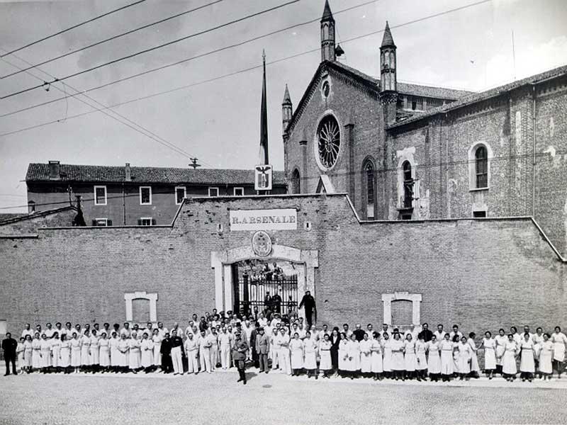 Chiesa dei San Francesco - Archivio Vecchi