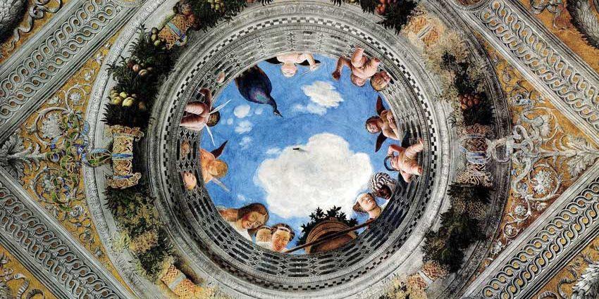 Castello di san giorgio for Mantova camera sposi