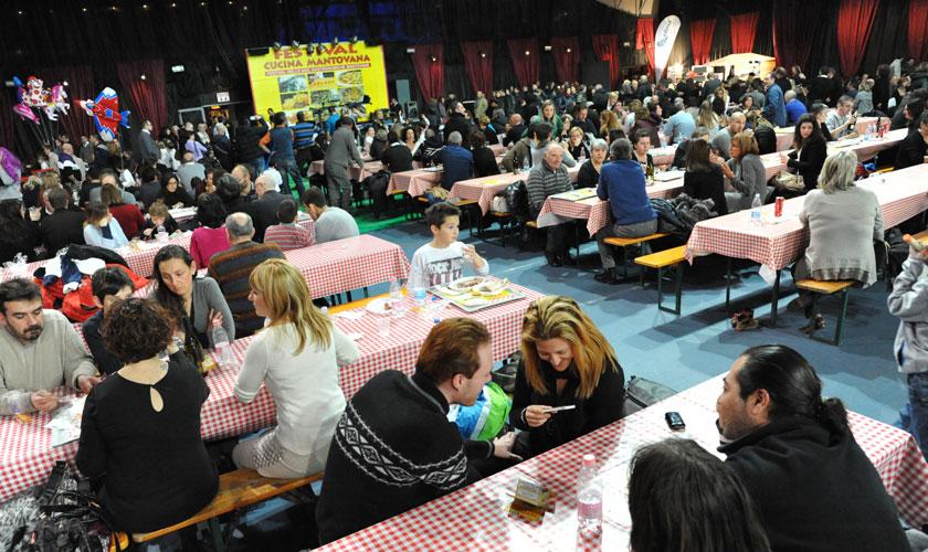 Al Palabam di Mantova i Festival della Cucina Mantovana